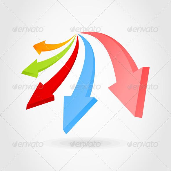 Graphic River Arrow an icon Vectors -  Miscellaneous 724441