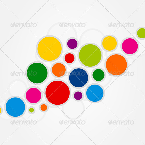 Graphic River Cheerful Ball 3 Vectors -  Decorative  Backgrounds 724569