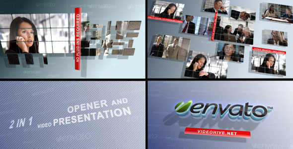 After Effects Project - VideoHive Business screens 2 in 1 724761