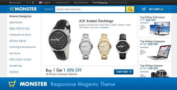 Premium Magento Theme