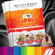 Restaurant Menu With Business Card Included - GraphicRiver Item for Sale