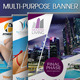 Multipurpose Banner Vol.4 -Graphicriver中文最全的素材分享平台