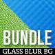 24 Glass Smooth Blur Background Bundle