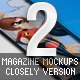 Magazine Mockups – Closely Version II - GraphicRiver Item for Sale