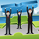 Business Teamwork Concept - GraphicRiver Item for Sale