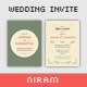 Vintage Wedding Invitation - GraphicRiver Item for Sale