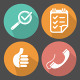 Vector Business Flat Icon Set. - GraphicRiver Item for Sale