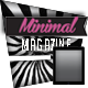 Tablet Minimal Magazine - GraphicRiver Item for Sale