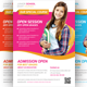 Junior School Education Flyer Template - GraphicRiver Item for Sale