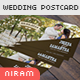 Wedding Invitation Post Card - GraphicRiver Item for Sale