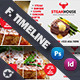Restaurant Timeline Templates - GraphicRiver Item for Sale