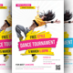 Street Dance Tournament Flyer Template - GraphicRiver Item for Sale