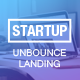 Unbounce Landing Page Template for Startups - ThemeForest Item for Sale