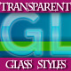 Set of Transparent Glass Graphic Styles for Design - GraphicRiver Item for Sale