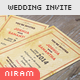 Vintage Modern Wedding Invitation - GraphicRiver Item for Sale
