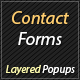 Contact Forms Pack for Layered Popups - CodeCanyon Item for Sale