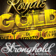 Royale Gold Ticket Party Flyer Template - GraphicRiver Item for Sale