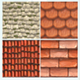Roof Textures Pack - 3DOcean Item for Sale