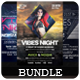 Vibes Night - Flyers Bundle [Vol.4] - GraphicRiver Item for Sale