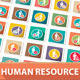 42 Human Resource Icons - GraphicRiver Item for Sale