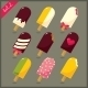 Collection of Ice Cream - GraphicRiver Item for Sale