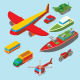 Isometric Transportation Collection - GraphicRiver Item for Sale