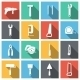 Tools Flat Icons Set - GraphicRiver Item for Sale