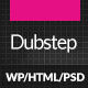 Dubstep - Premium Music WordPress Theme - ThemeForest Item for Sale