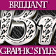 Set of Luxury Brilliant Graphic Styles for Design - GraphicRiver Item for Sale