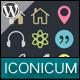 Iconicum - WordPress Icon Fonts - CodeCanyon Item for Sale