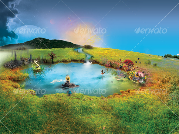 GraphicRiver Puddle Of Dreams 28484