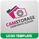 Cam Storage Logo Template - GraphicRiver Item for Sale