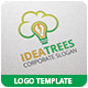 Idea Tree Logo Template - GraphicRiver Item for Sale