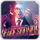 Space Sounds CD/Mixtape Album Cover - GraphicRiver Item for Sale