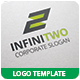 Infinitwo Logo Template - GraphicRiver Item for Sale