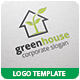 Green House Logo Template - GraphicRiver Item for Sale