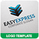 Easy Express Logo Template - GraphicRiver Item for Sale