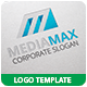 Media Max Logo Template - GraphicRiver Item for Sale