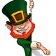 St. Patrick Presenting a Banner - GraphicRiver Item for Sale