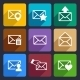 Mail  Flat Icons Set 48 - GraphicRiver Item for Sale