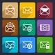 Mail  Flat Icons Set 47 - GraphicRiver Item for Sale