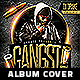 Gangsta Hip Hop CD Album Cover  - GraphicRiver Item for Sale