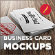 10 Photorealistic Business Card Mockups - GraphicRiver Item for Sale