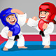 Kids Practicing Taekwondo - GraphicRiver Item for Sale