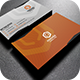 Orange Corporate Business Card - GraphicRiver Item for Sale