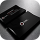 Blackish Professional Business Card - GraphicRiver Item for Sale