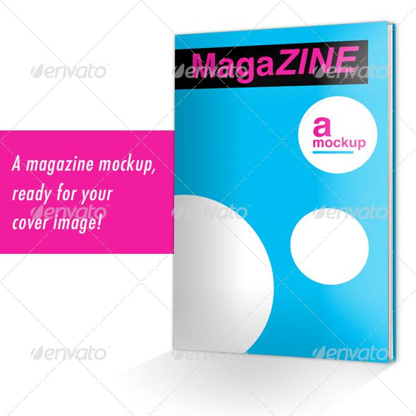 Graphic River MagaZINE Mockup Graphics -  Product Mock-Ups  Miscellaneous 28907