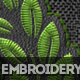 Embroidery and Stitching Photoshop Creation Kit