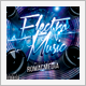 Electro Music CD Cover - GraphicRiver Item for Sale