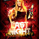 Last Night Flyer - GraphicRiver Item for Sale